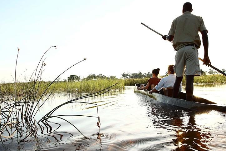 Adventurer Botswana's Canoe Trail