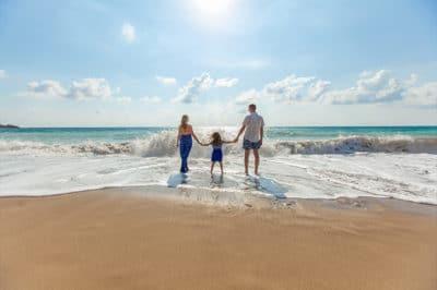 Family Mauritius East Coast