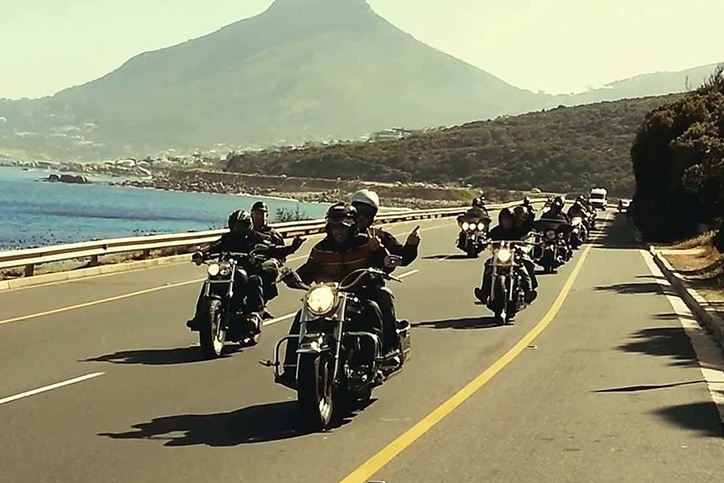 Harley Davidson & Helicopter Cape Town