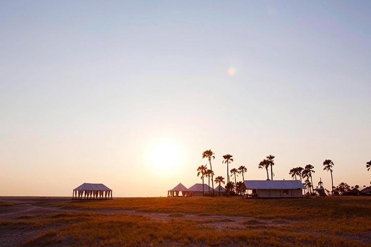 Kalahari Botswana's San Camp