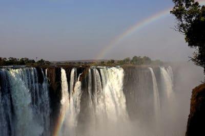 Romantic Zambia's Livingstone Falls