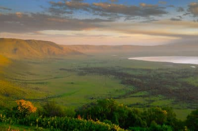 Tanzania Fly-In Crater, Migration & Island