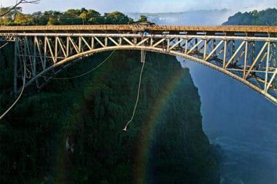 Zambia's Livingstone Falls